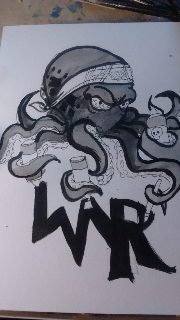 The 8 arms of creativity thug pound!
